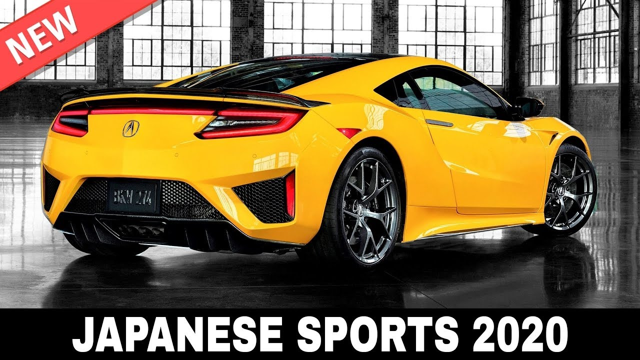 Top 10 New Japanese Sports Cars on Sale in 2020 (Exterior and Interior Design Review)