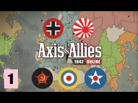 Axis & Allies 1942 Online: Community Game #1 - Round 1: It begins! |