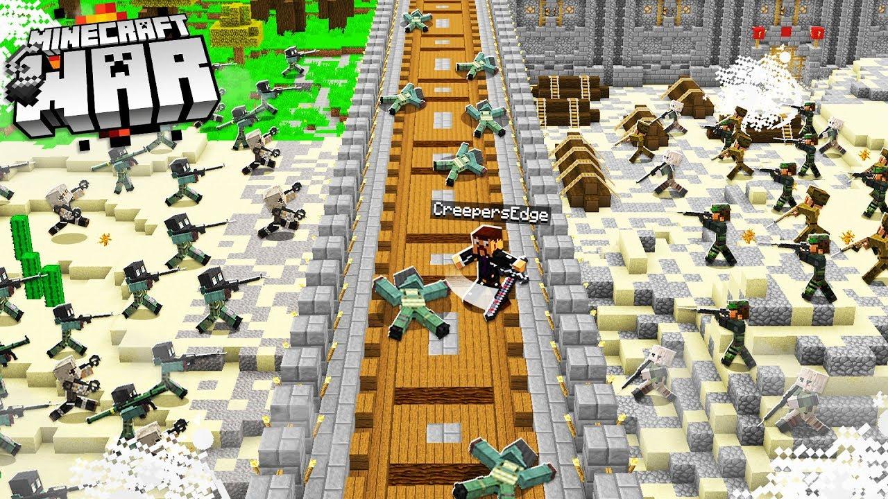 Download this surprise Minecraft BATTLE triggered a SERVER WAR! (Minecraft War #31)