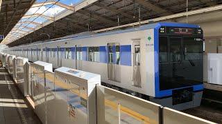 都営三田線新型 都営6500形試運転 西台駅発着