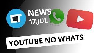 Vídeos do YouTube dentro do WhatsApp; Dia do Emoji; Novo Atari e + [CT News]