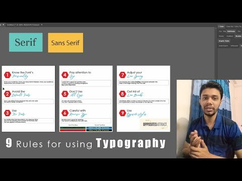 9 Rules for using typography