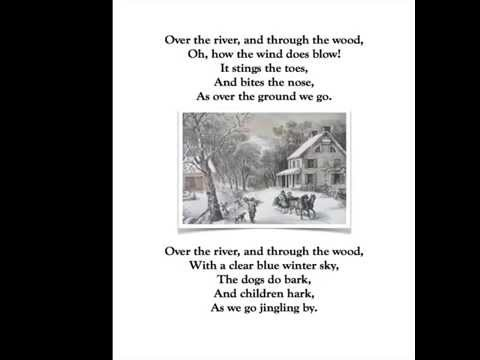 Over the River and Through the Wood by Lydia Maria Child