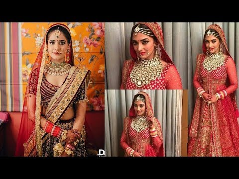 Exclusive Indian Bridal Wear 2018