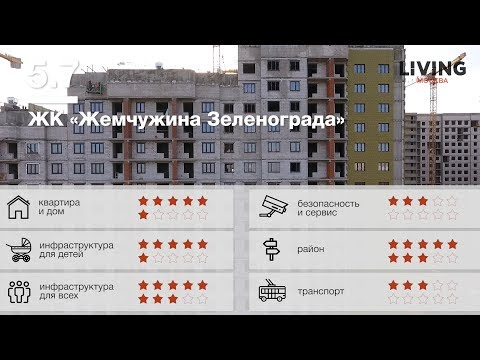 ЖК Жемчужина Зеленограда в 17 микрорайоне Зеленограда от