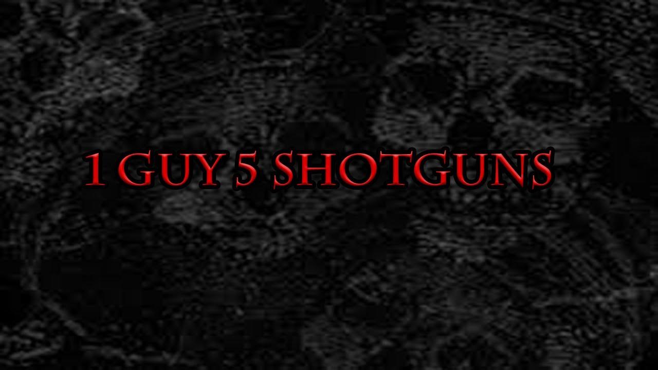 1 Guy 5 Shotguns | A Gore Video Debunking