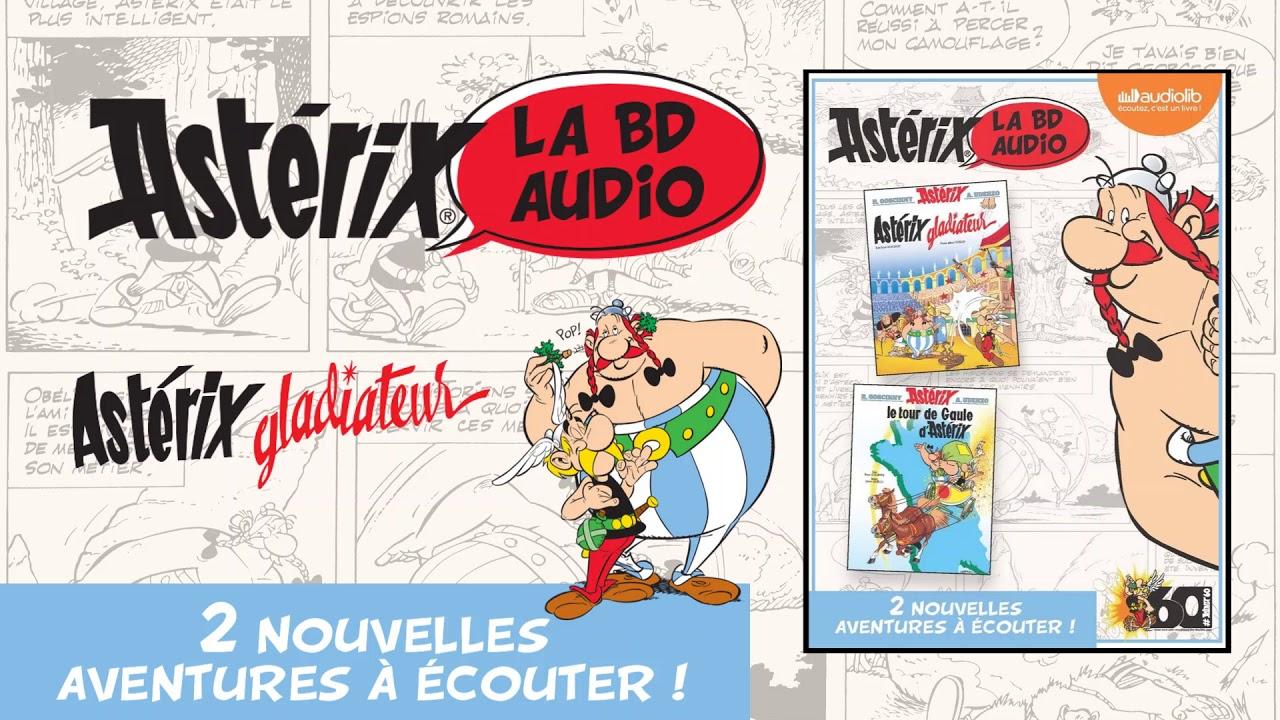 Asterix Gladiateur En Bd Audio Lu Par 8 Comediens Livre Audio
