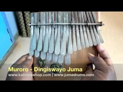 Mbira in A  - Dingiswayo Juma - Juma Drums