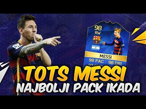 TOTS Messi in a Pack - TOTS Pack Opening