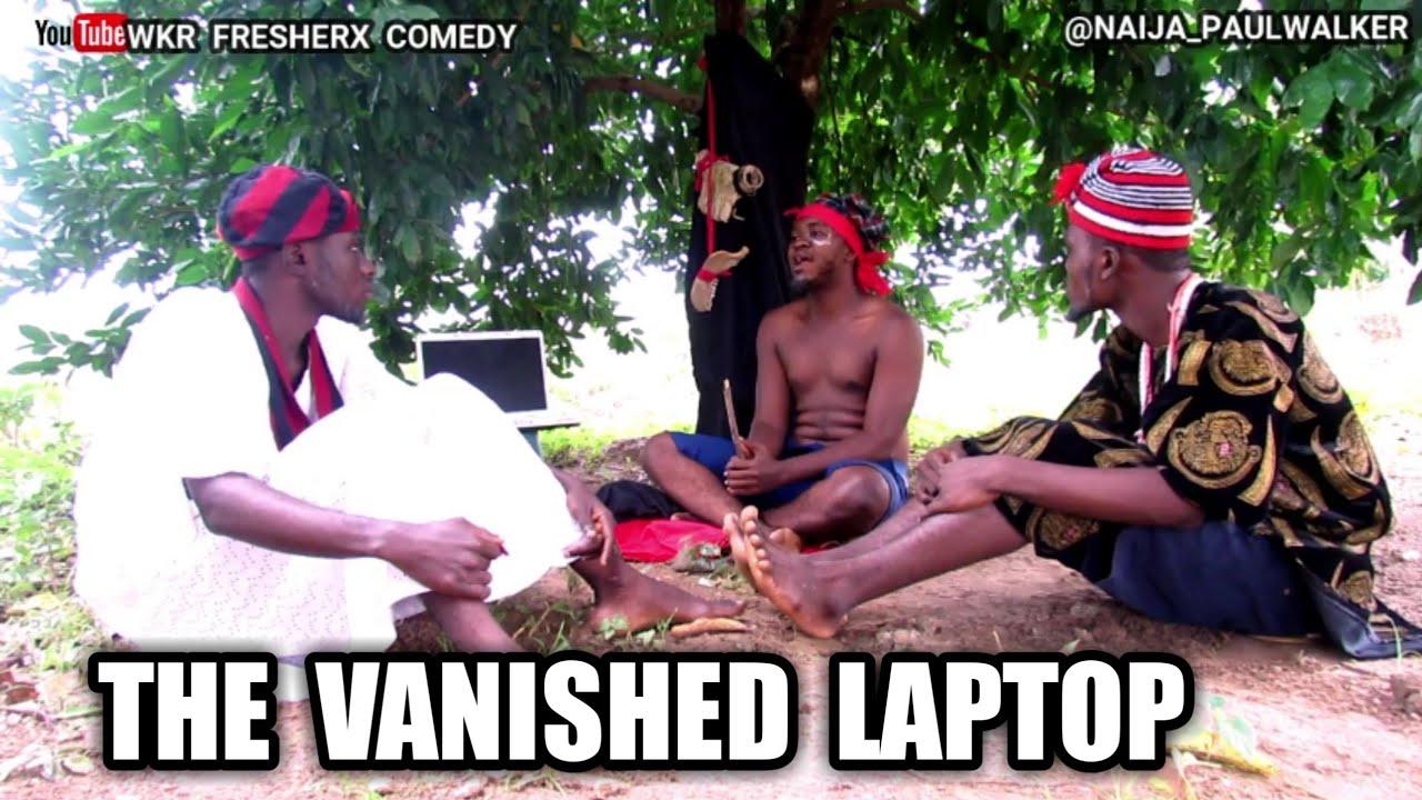 Download THE VANISHED LAPTOP (wkr fresherx comedy) #markangelcomedy #samspedy #brodashaggi #xploit