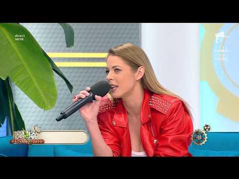 """Roxana Nemeș lansează melodia """"Luni"""", la Neatza cu Răzvan și Dani!"""
