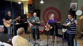 Tony Greg and Robert Performing Amarillo By Morning Main Street Music and Art Studio