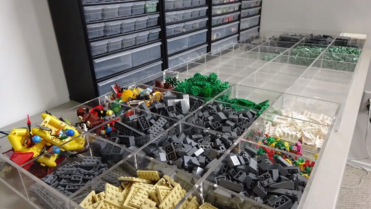 – 4211389 Parts /& Pieces 10 x Lego Grey square bricks size 1x1x1