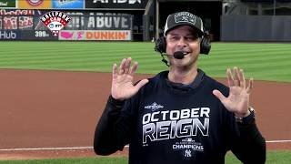 Aaron boone joins mlb tonight after the yankees clinch their first al east title since 2012.