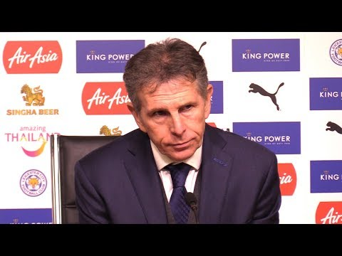 Leicester 1-1 Manchester City (MCFC Win On Pens) - Claude Puel Full Post Match Press Conference