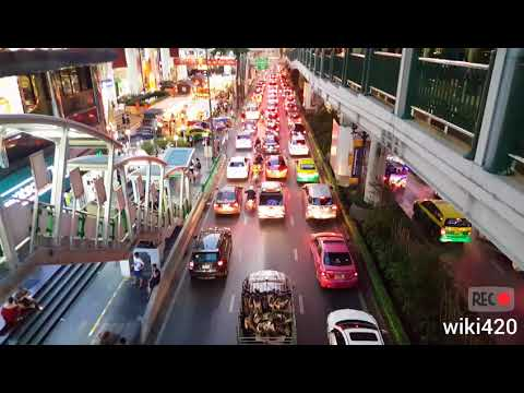 Central Bangkok City Tour 22 February 2018 full HD