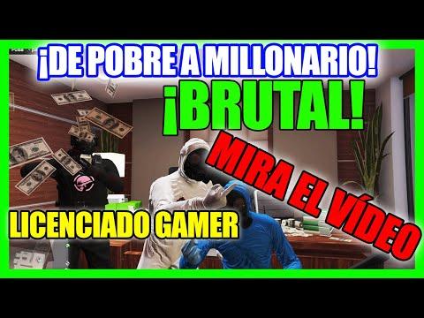 De POBRE A MILLONARIO GTA 5 ONLINE Como GANAR (MUCHO) DINERO En GTA V ONLINE 2020🤑(PS4)