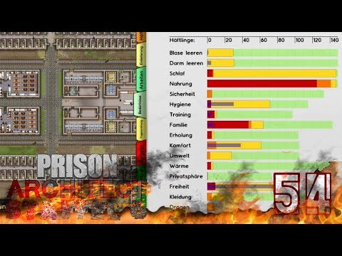 DAT FUTTER WIRD KNAPP - [54] Lets Play Prison Architect (STAFFEL 6) | HMS