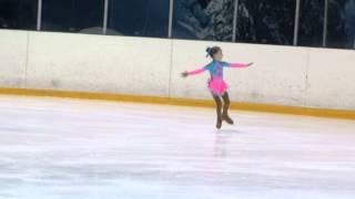 Соревнования по фигурному катанию в г.Дмитров Юный Фигурист Яна 5 лет