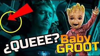¡Tienes que verlo! ¿BABY GROOT sale en el tráiler de Avengers: END GAME?