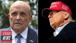 NBC Stars Protest Trump Town Hall Timing, Rudy Giuliani Uploads Racist YouTube Video | THR News