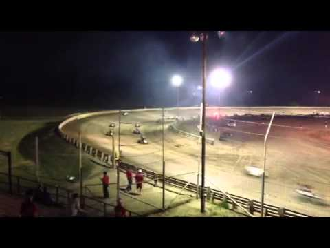 Belleville High Banks Crash (2013)