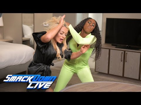 Mandy Rose welcomes Jimmy Uso to her hotel room: SmackDown LIVE, Jan. 15, 2019