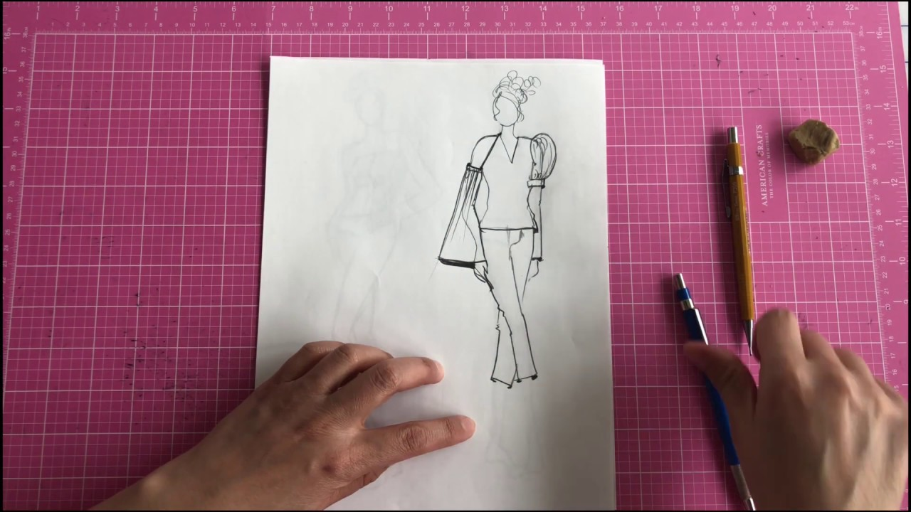 Fashion Illustration: Drawing Clothing - Part One