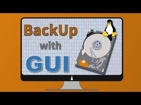 Linux Backup with Graphical Programs