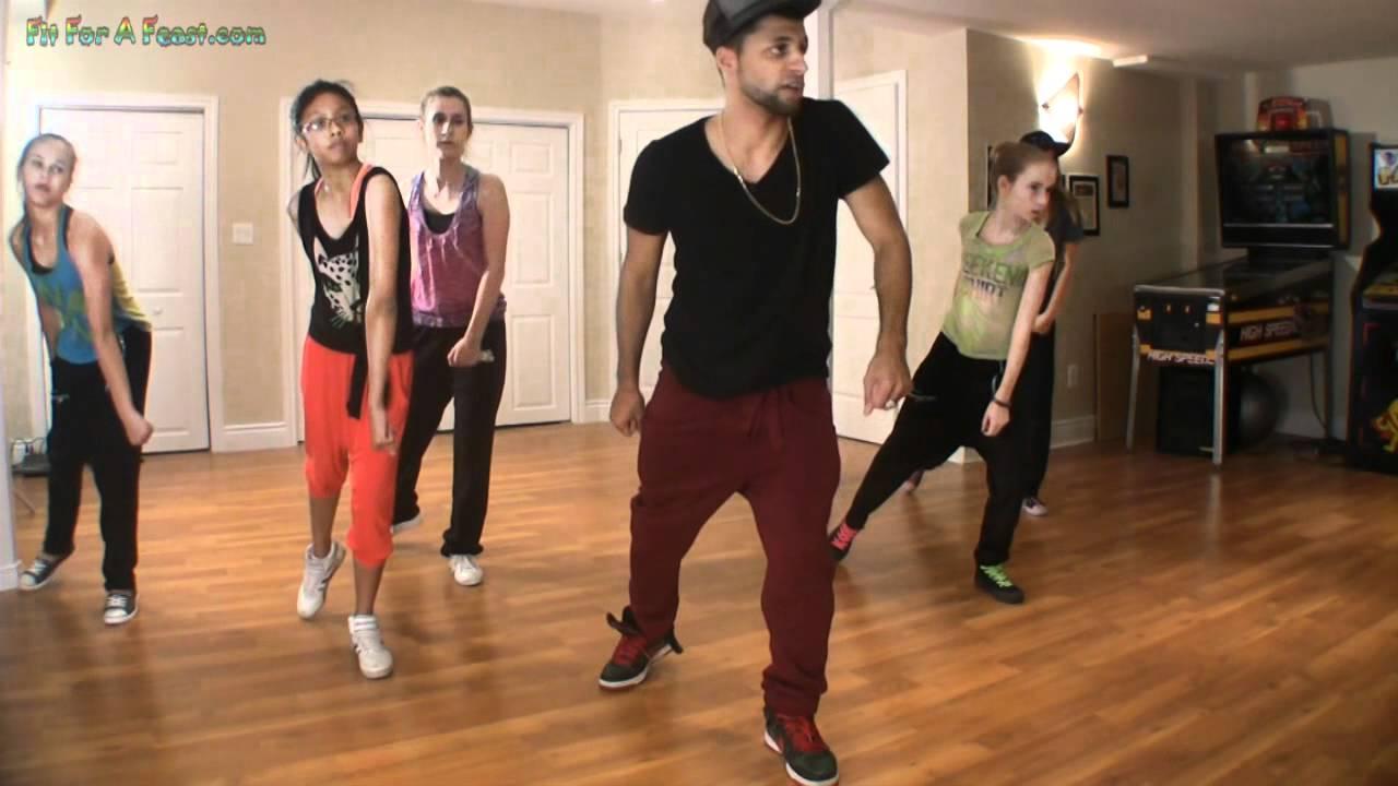 Hip Hop Dance Tutorial - Hip Hop Combo Lesson Part 1 - YouTube