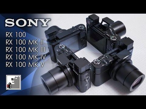 Всё семейство камер SONY RX 100**