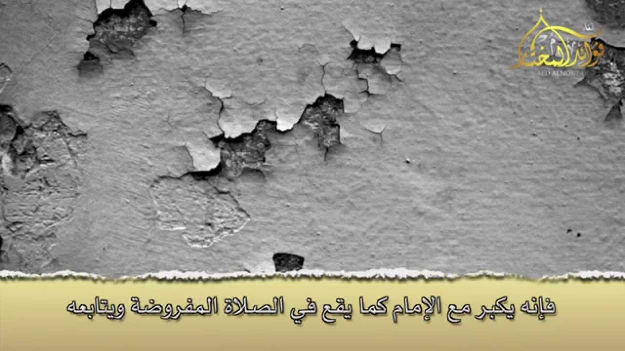 كيفية قضاء ما فات من التكبيرات في صلاة الجنازة للشيخ محمد بن محمد المختار الشنقيطي