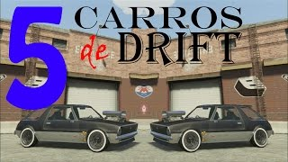 GTA V  top 5 Carros de Drift