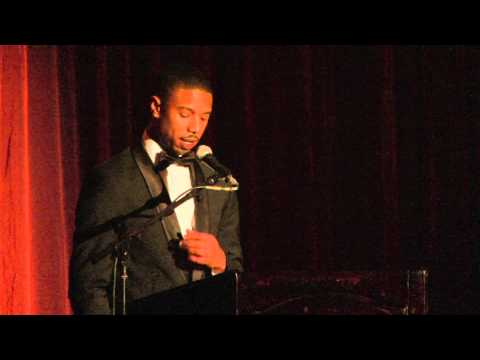 Kirk Douglas Award - Michael B Jordan Speech - YouTube
