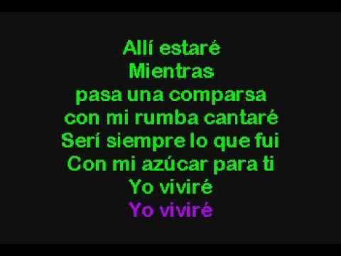 Celia Cruz   Yo Viviré I Will Survive Karaoke