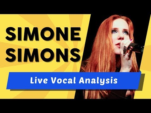 Vocal Coach ANALYZES EPICA! [Simone Simons Analysis]