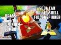 Casting 3 layer Fidget Spinner from Soda Cans and Bullet Shells   Brass & Aluminium   PressTube