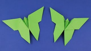 How To Make an Easy Origami Butterfly | Origami Easy Tutorial