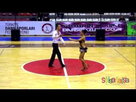 A Klasman 12.Olan Çift   Volkan & Ceren   TDSF Salsa Şampiyonası 2.Etap