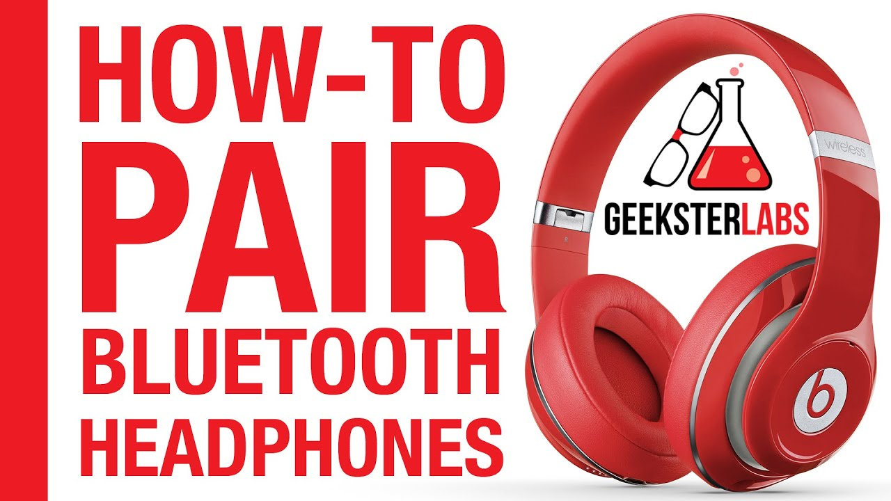 how to pair sync bluetooth headphones beats by dre on iphone youtube. Black Bedroom Furniture Sets. Home Design Ideas