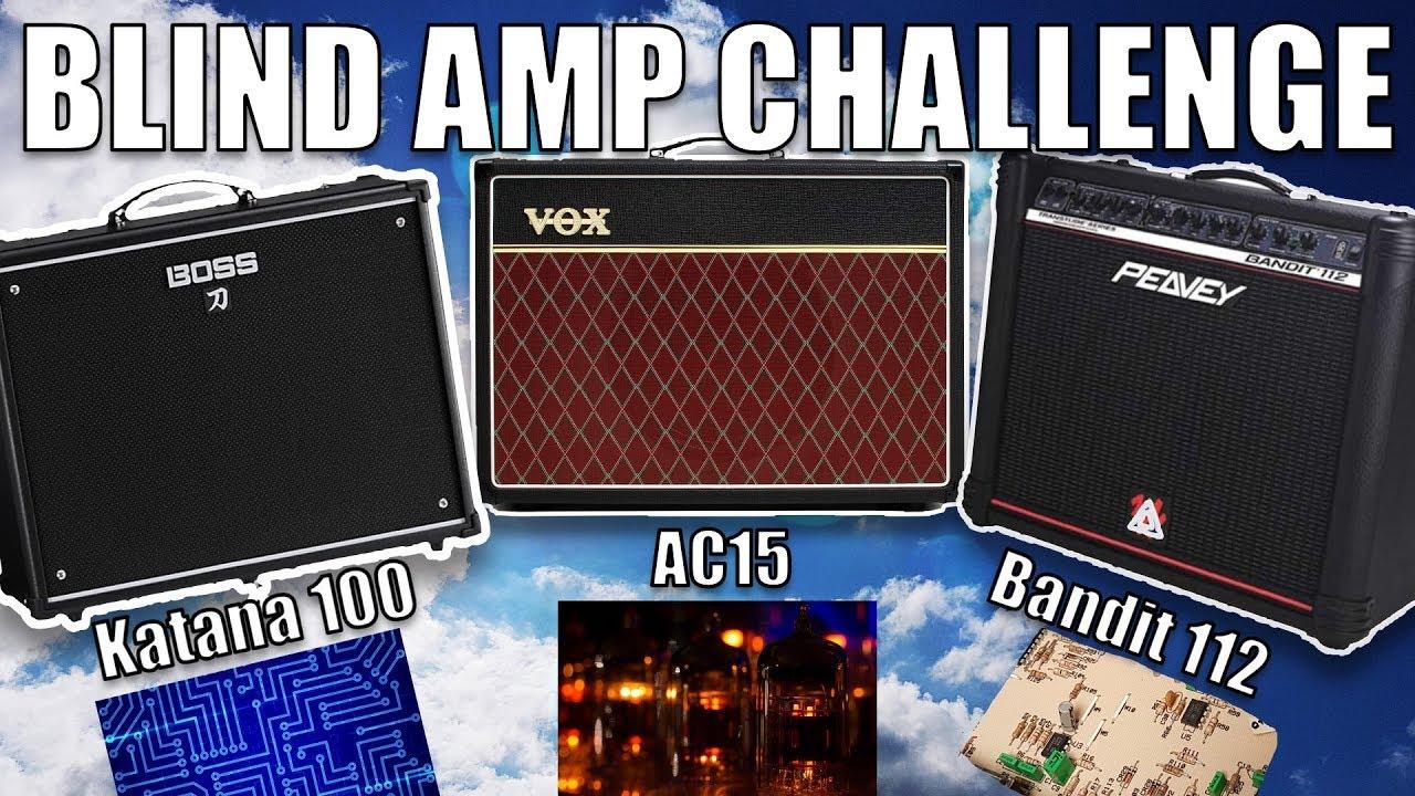 tube vs solid state vs digital blind guitar amplifier challenge youtube. Black Bedroom Furniture Sets. Home Design Ideas