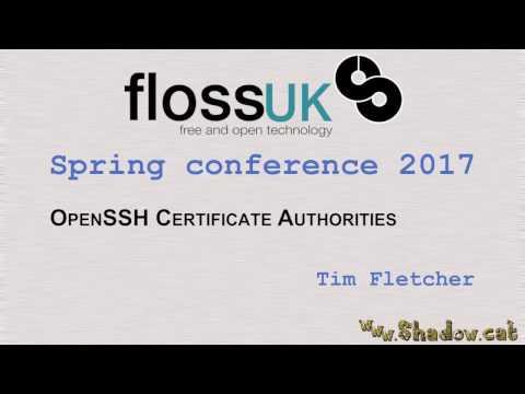 OpenSSH Certificate Authorities by Tim Fletcher
