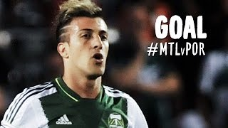 GOAL: Maximiliano Urruti sends it in after a quick turn | Montreal Impact vs. Portland Timbers