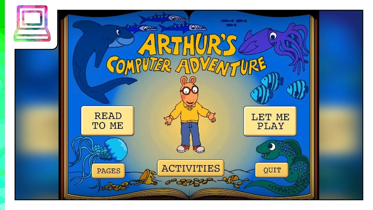 Living Books - Arthur's Computer Adventure (Read To Me)