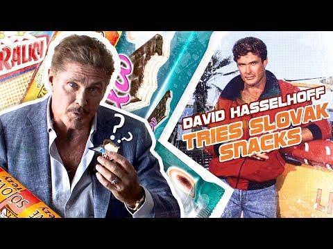 HOFFTASTIC! DAVID HASSELHOFF TASTES SLOVAK SNACKS