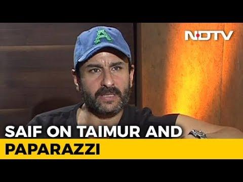 Saif Ali Khan On Paparazzi's Darling Taimur