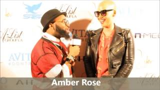 (EXCLUSIVE) Amber Rose:
