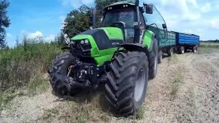 ŻNIWA 2018 na Podlasiu// NewHolland TC5070// Deutz Fahr 6180 cshift// DeutzFahr  Agrotron k410//
