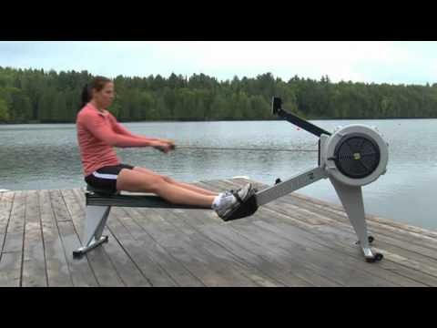 rowing machine proper form