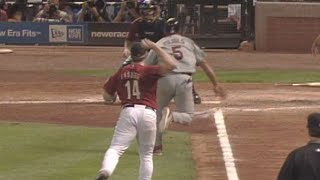 2005 NLCS Gm4: Ensberg throws out Pujols at home